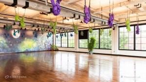 studio yoga gym aerial virtual backgrounds fitness filters workout popsugar feel