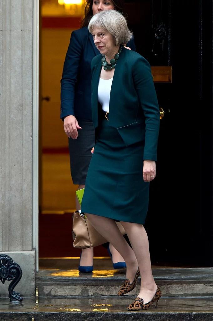 A Gemstone Statement Necklace  British Prime Minister