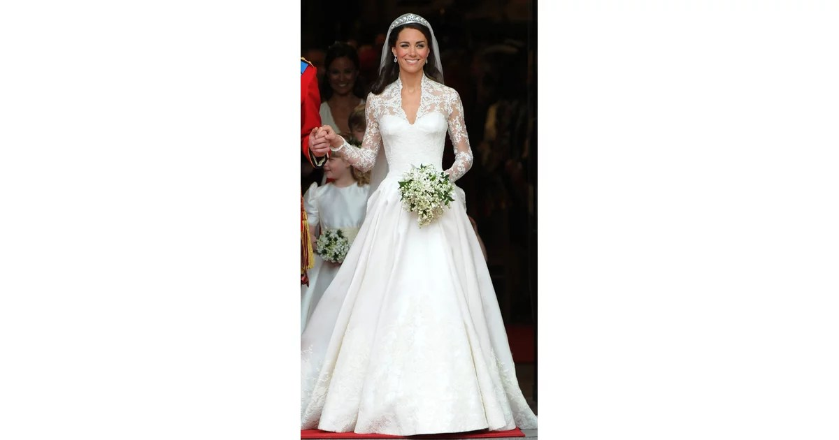 Both Dresses Featured Elegant Lace Sleeves, A Sweetheart