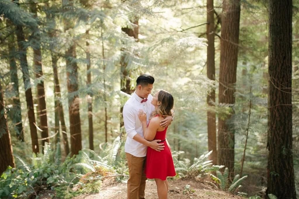 Forest Engagement Photos POPSUGAR Love & Sex
