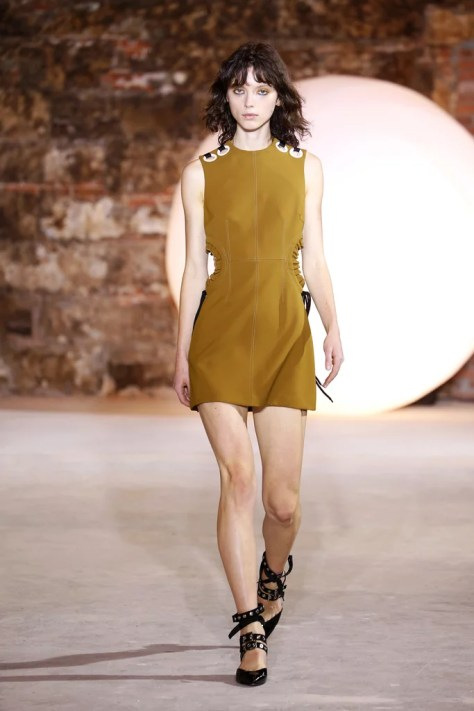 The Self-Portrait Spring collection was revealed during New York Fashion Week on Sept. 10.