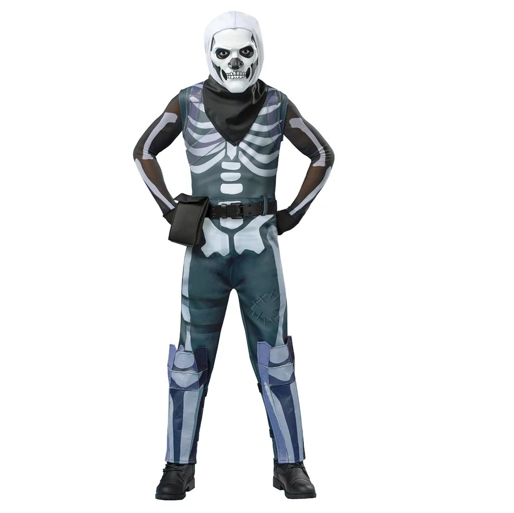 Pages Fortnite Skull Coloring Trooper