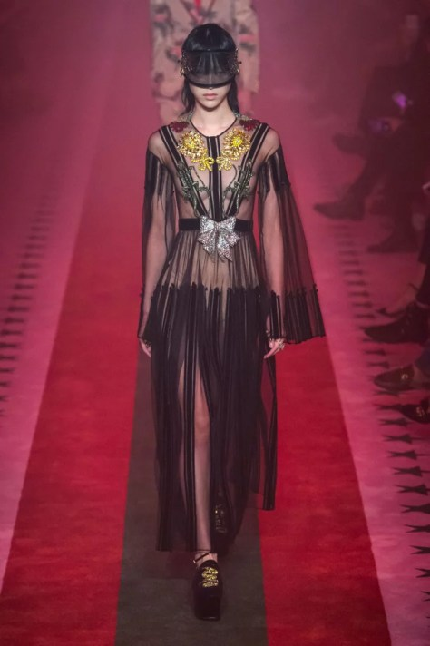 Alessandro Michele's new Gucci collection was revealed at Milan Fashion Week on Sept. 21.