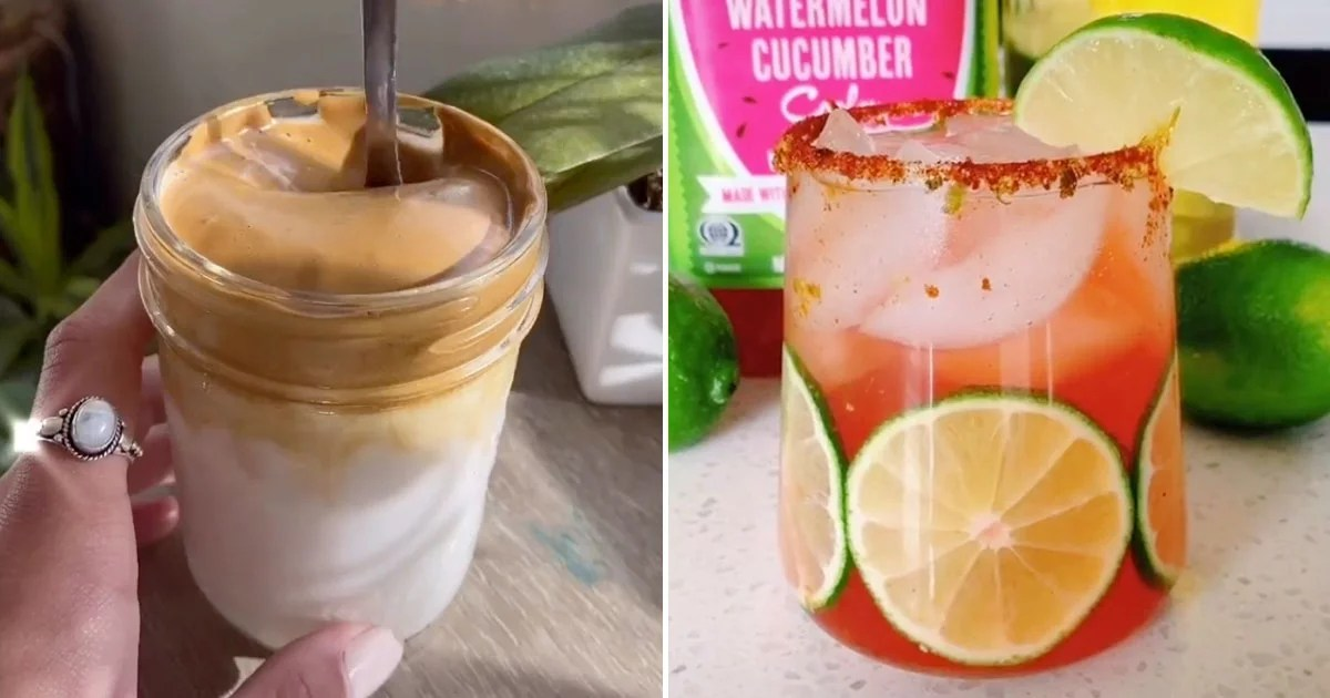 From Whipped Coffee to White Claw Slushies, Here Are 10 TikTok Drinks You Need to Try