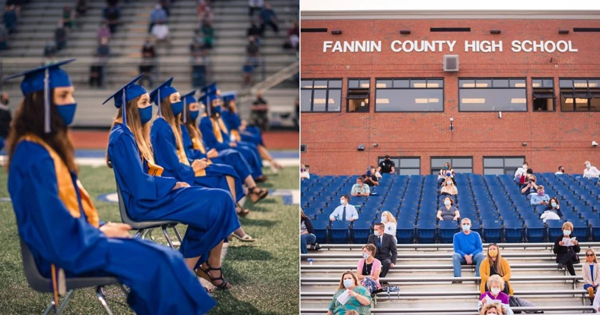 These Powerful Graduation Photos Show What the Important Milestone Looks Like in 2020