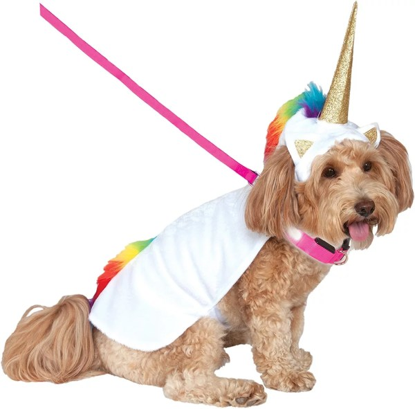 Unicorn Dog Halloween Costumes 2018 Popsugar Family