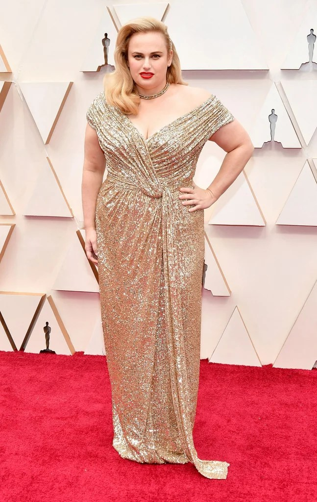 Rebel Wilson Oscars 2020 (PopSugar / Getty)