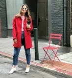 three Editors Type Gal Meets Glam's New Coat Line, and It will Get You within the Vacation Spirit