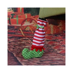 Christmas Elf Chair Covers Cuddle Bed Leg Cover On The Shelf Party Supplies Popsugar Family Photo 4