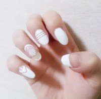 White Nail Art Ideas | POPSUGAR Beauty