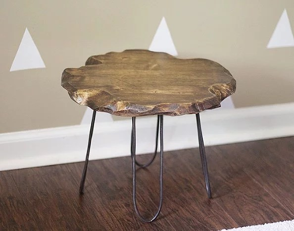 Hairpin Stool  Best DIY Projects For Home Decorating