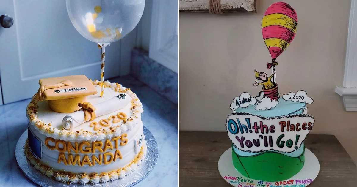 Celebrate Your 2020 Grad With a Delicious Cake  These 30 Are Inspiring Us to Bake!