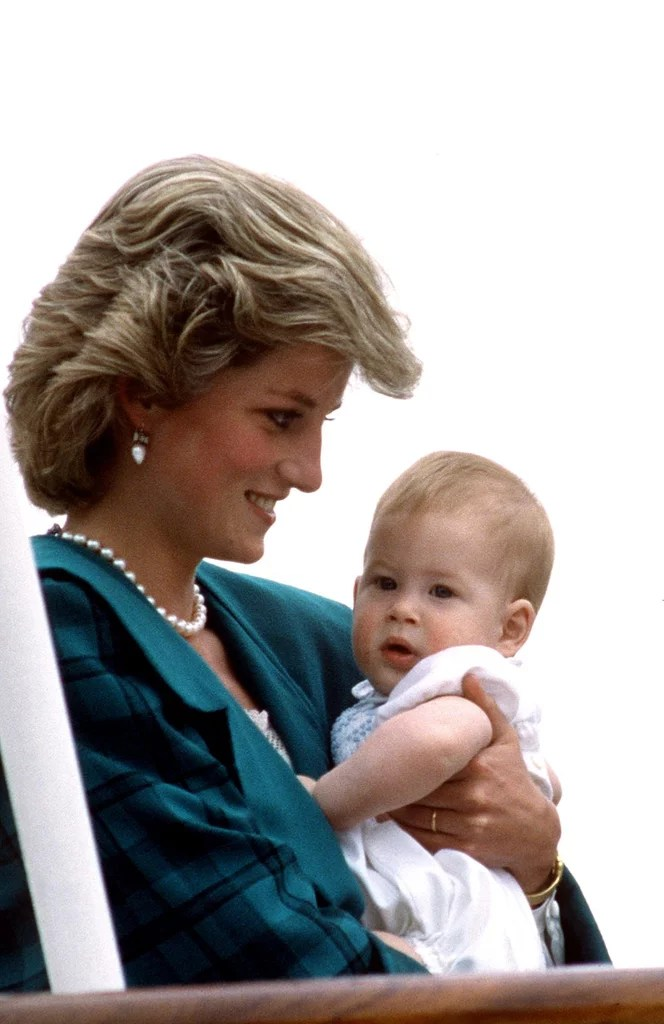 Prince Harry kept close to his mom during the royal tour ...