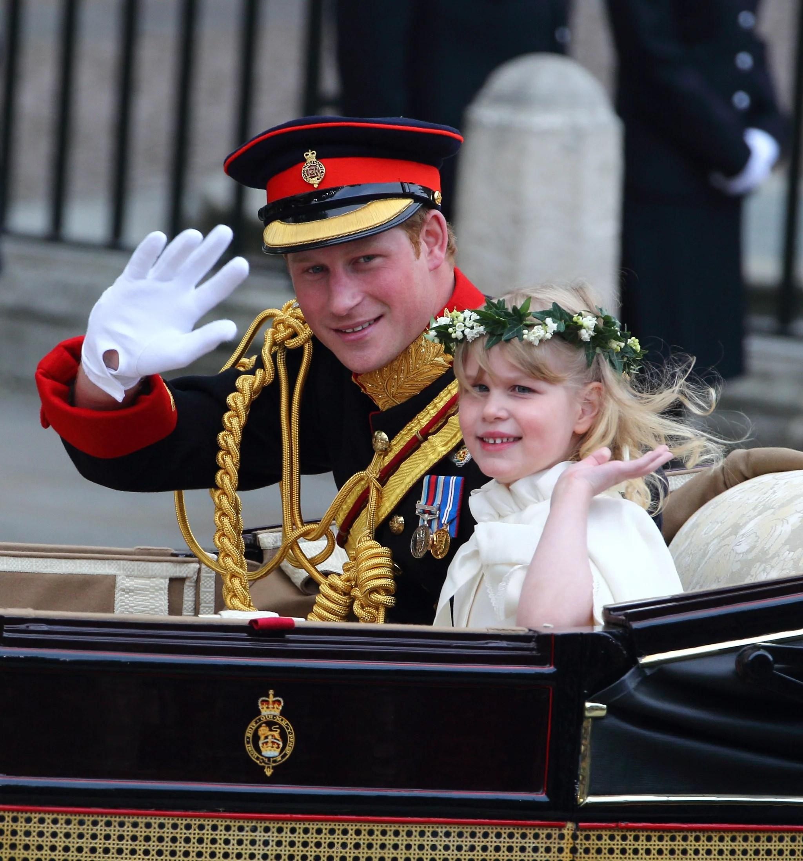 Royal Wedding Bridesmaid Lady Louise Windsor  POPSUGAR