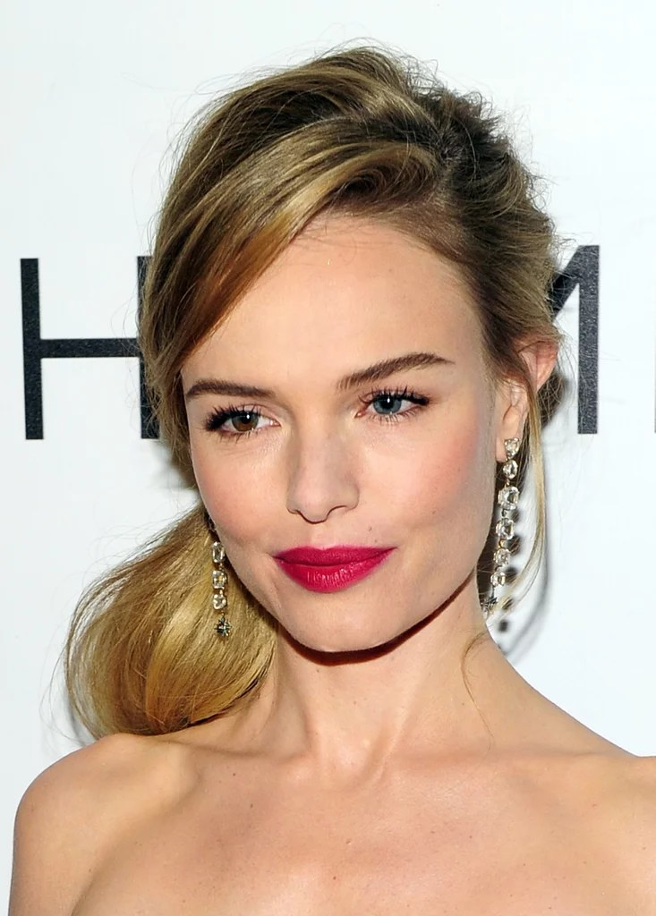 Pony Play Kate Bosworth Hair And Makeup Through The