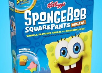 Breakfast Just Got Sq.: Kellogg's Is Bringing Back Its Spongebob Cereal From 2004