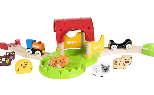 Brio My First Farm Wooden Toy Train Set Best Toys For 2