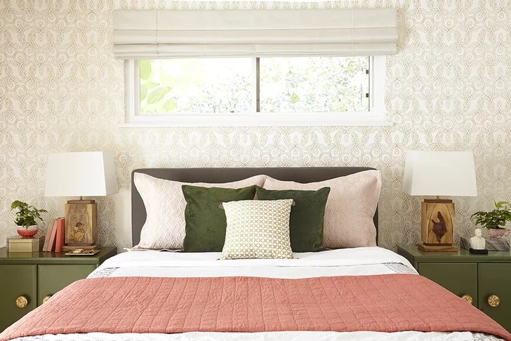 Window Over Bed  How to Dress Awkward Windows  POPSUGAR