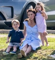 Kate Middleton and Princess Charlotte 2018