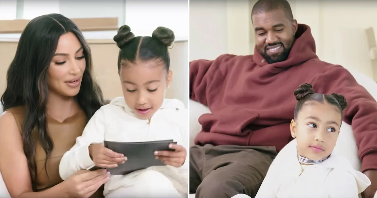 Kim and Kanye Open Their Home to Architectural Digest  and North Crashes Their Interview