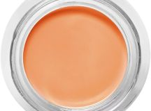 Use a salmon-coloured concealer