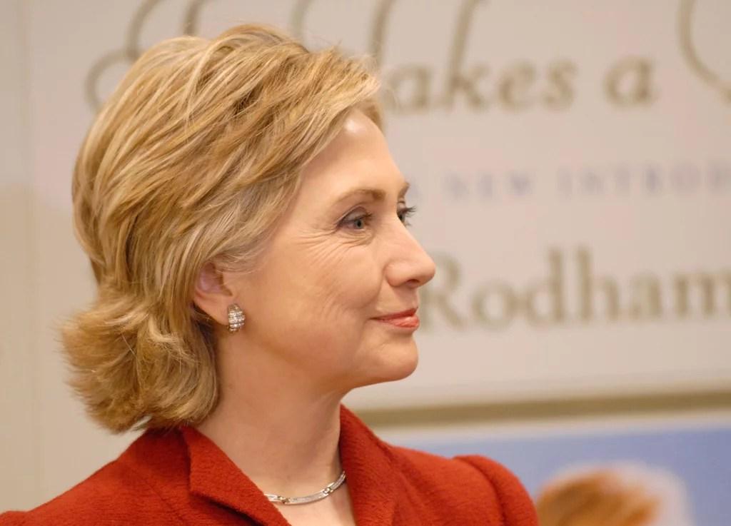 Hillary Clinton Hair Evolution  POPSUGAR Beauty Australia