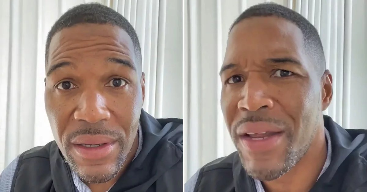 "Michael Strahan on Being a Black Man in America: ""The Color of Your Skin Makes People Scared of You"""