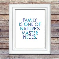 Family Quotes Wall Art | POPSUGAR Moms