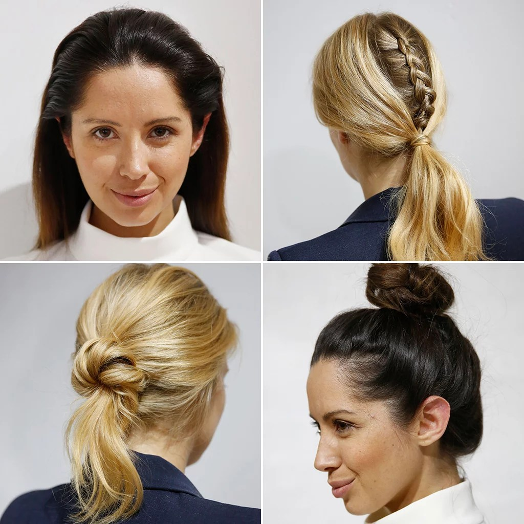 Quick Hairstyles For Work POPSUGAR Beauty Australia