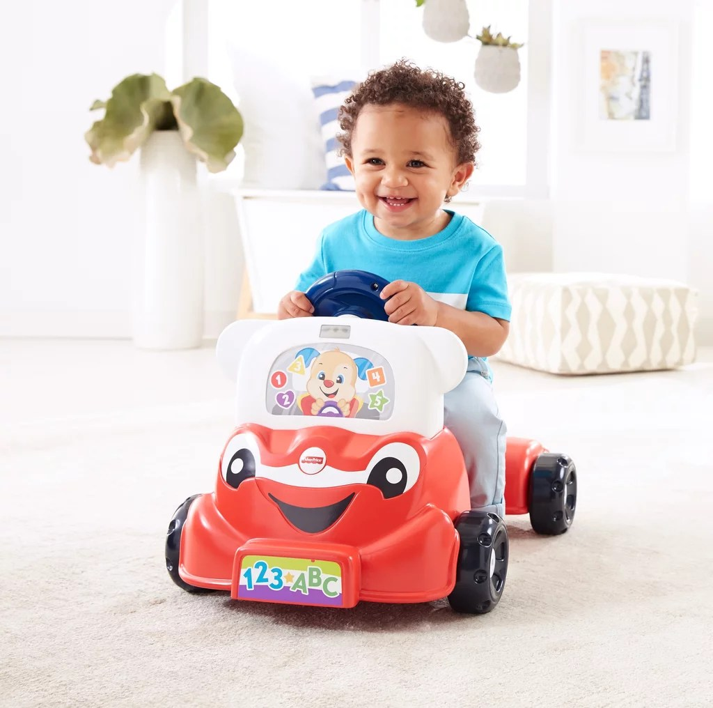For 1 Year Olds Fisher Price Laugh Learn 3 In Smart Car