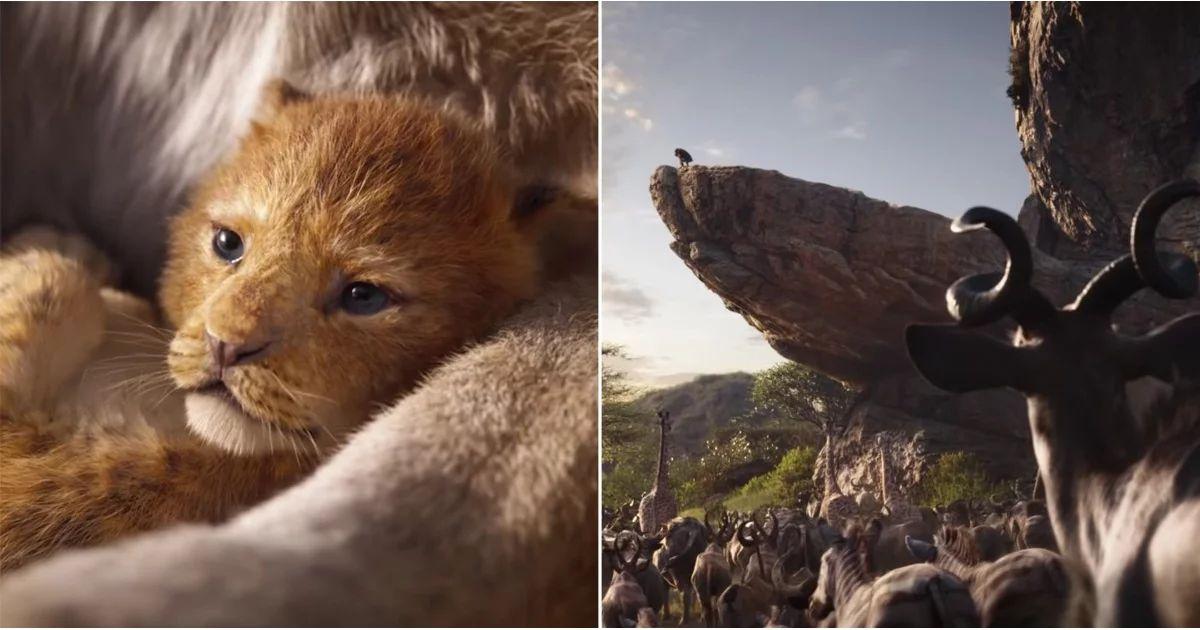 disney's the lion king movie trailer
