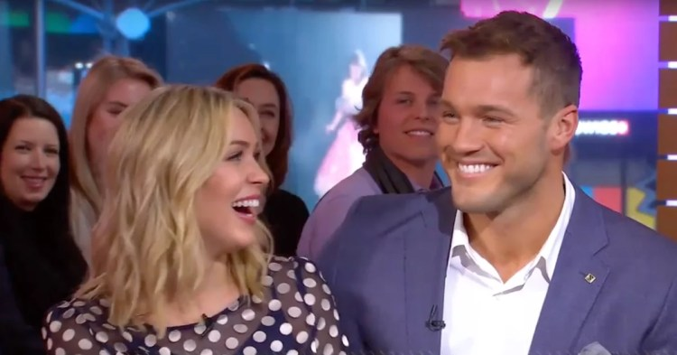 Colton Underwood Cassie Randolph Good Morning America ...