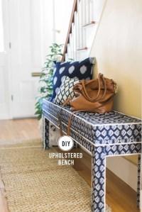 DIY Upholstered Ikea Bench | POPSUGAR Home