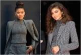 In True Little Sister Fashion, Storm Reid Wears the Same Suit as On-Screen Sis Zendaya