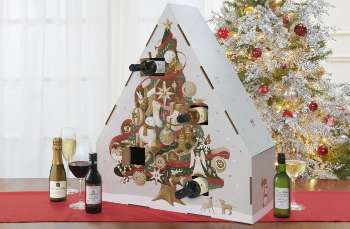 This Christmas Wine Advent Calendar Comes With 24 Bottles, So Who's Ready to Wine Down?