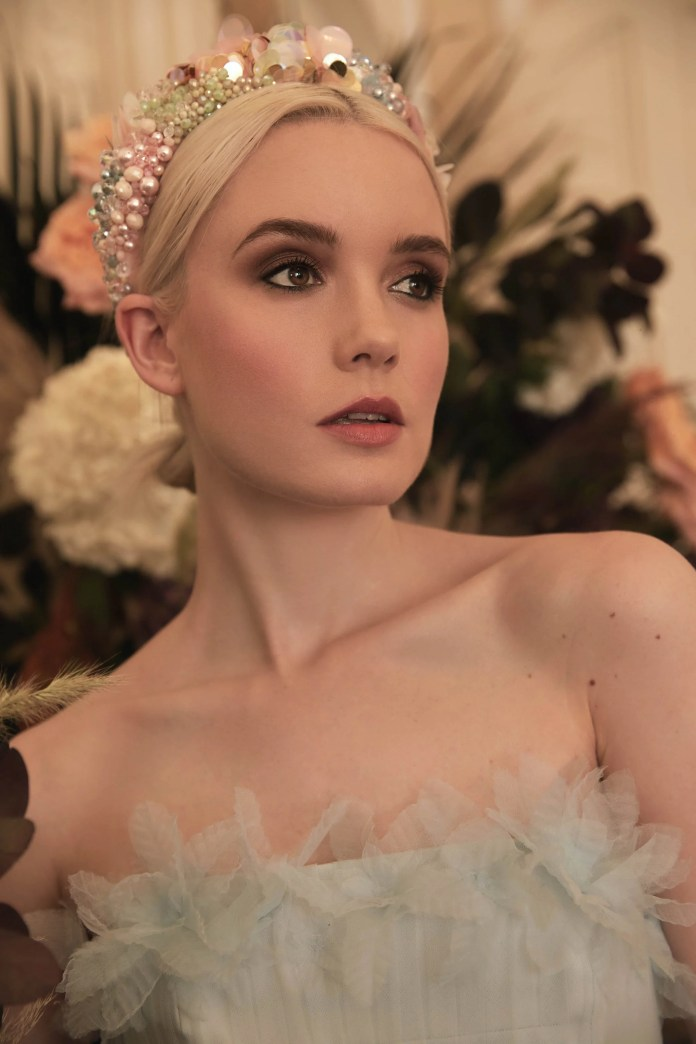 Victoria Percival on the Headbands For Netflix's The Duchess