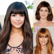 celebrity fringe hairstyles