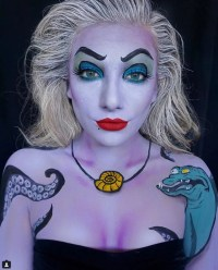 Ursula Halloween Makeup Ideas | POPSUGAR Beauty