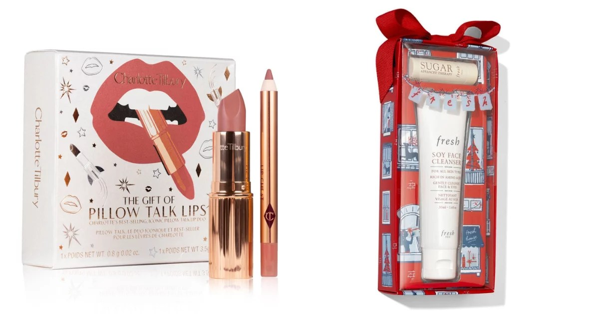 Some of the best beauty gift sets this year are also the cheapest, including Eve Lom, Too Faced, and Beauty by