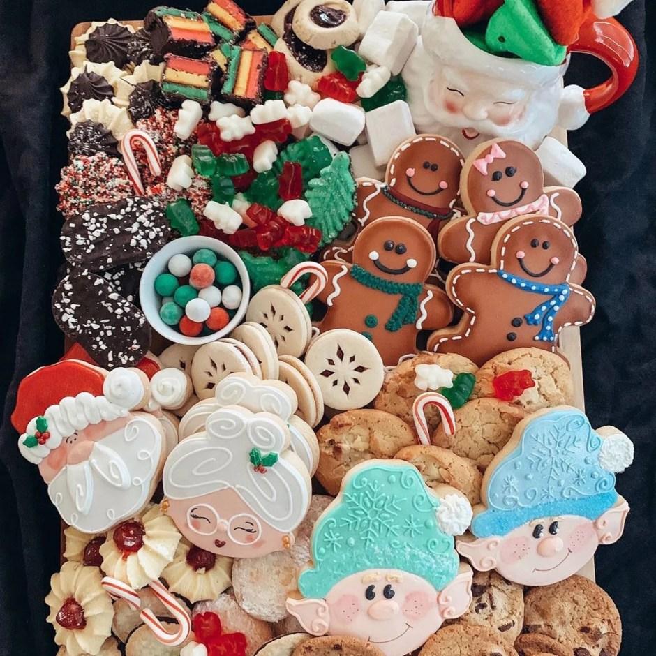 Christmas Cookie Charcuterie Board Ideas | POPSUGAR Food
