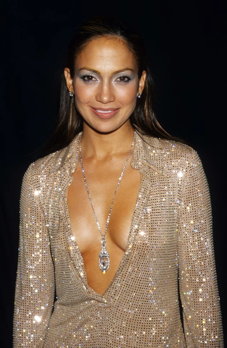 Jennifer Lopez 1999 Celebrities At The AMAs Now And