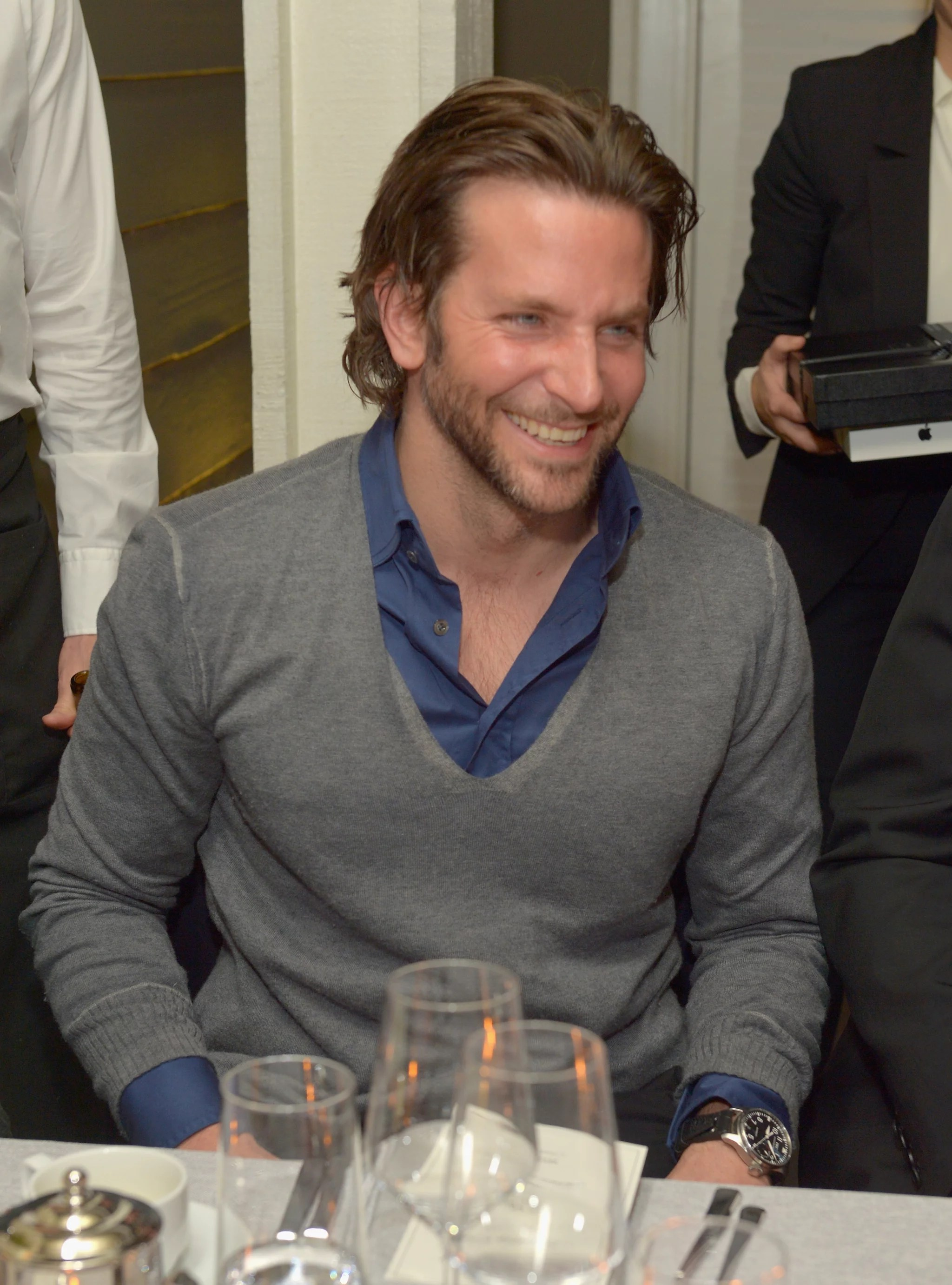 Bradley Cooper Had A Laugh At A Vanity Fair Bash For