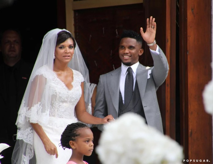 Image result for Samuel Eto'o na Georgette Tra Lou wedding