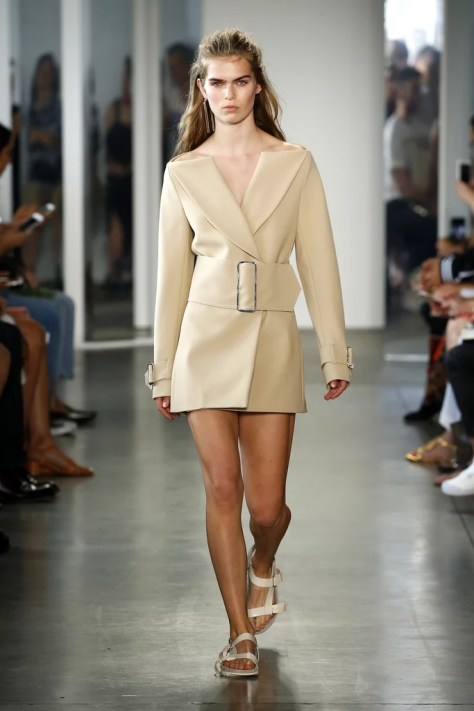 The Dion Lee Spring 2017 show was during New York Fashion Week on Sept. 10.