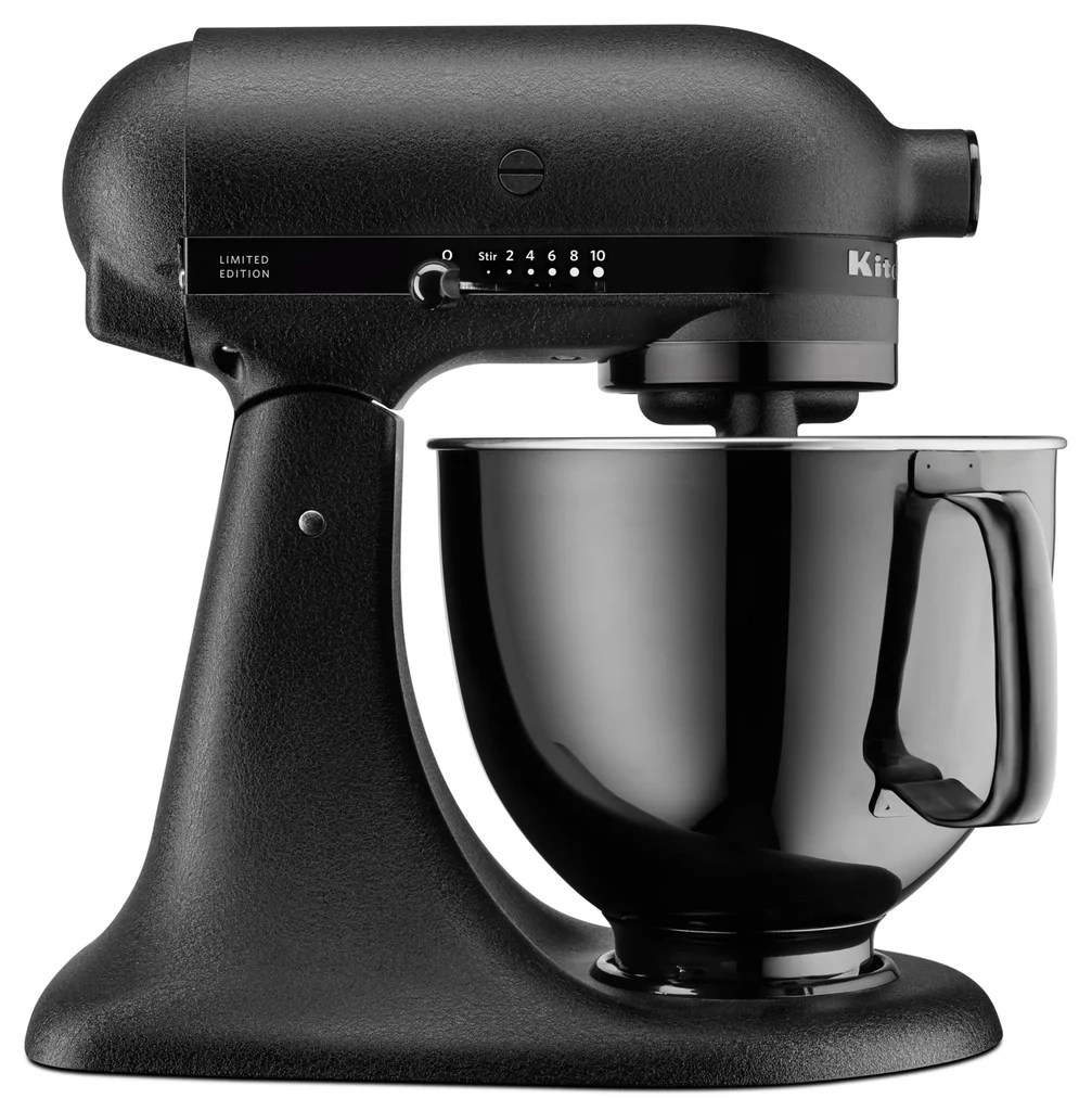 AllBlack KitchenAid Mixer  POPSUGAR Food Photo 5