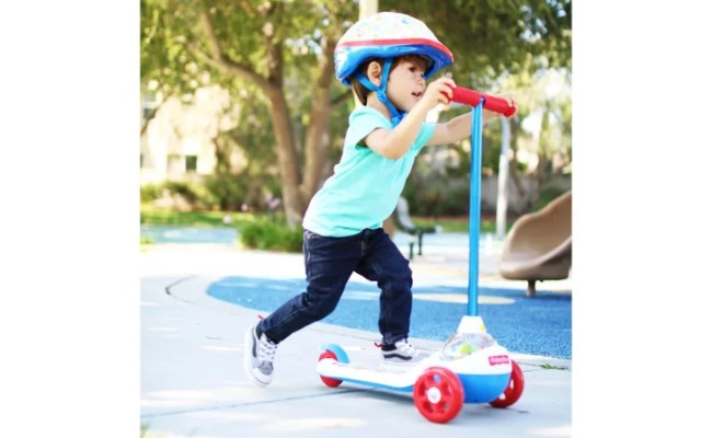 Fisher Price Retro Popping Scooter Best Toys For 2 Year