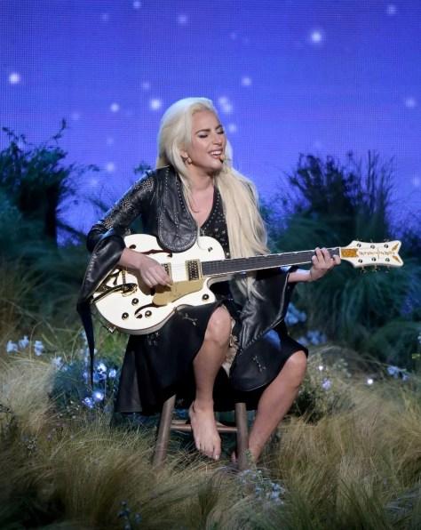 Lady Gaga Wearing Rodarte