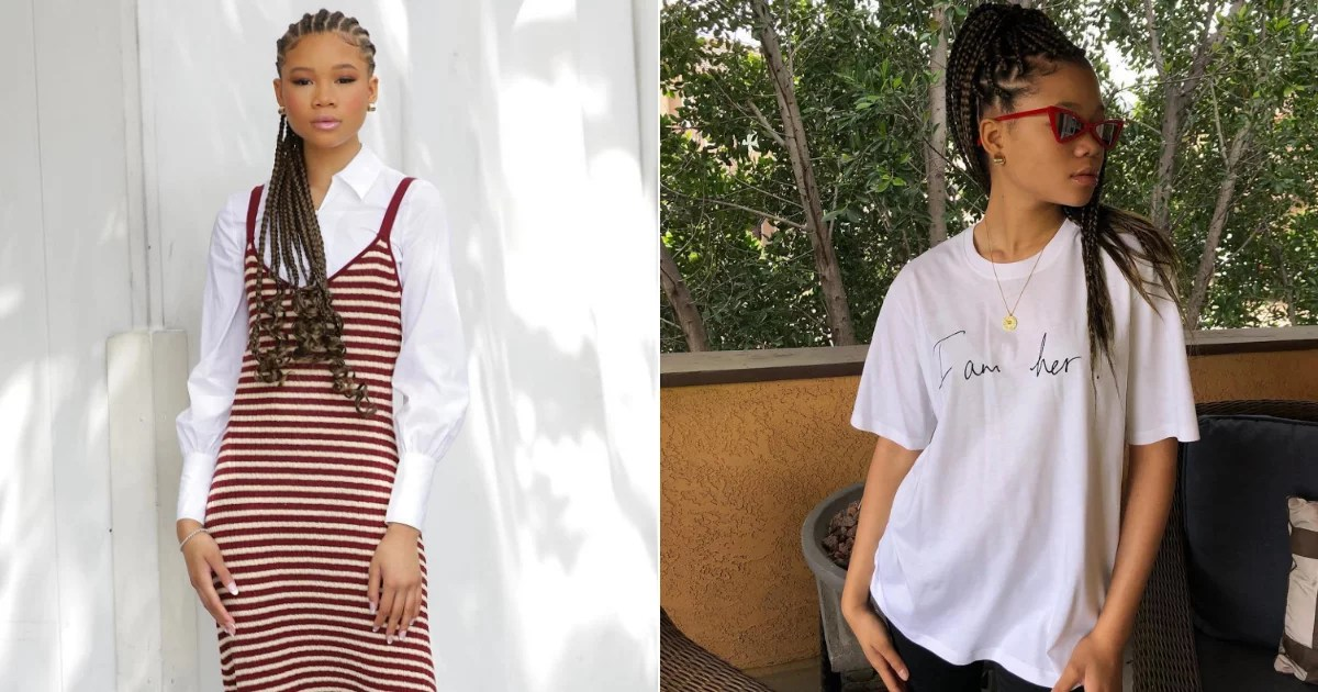 38 Storm Reid Outfits That Legitimately Help Me Decide What to Wear in the Morning