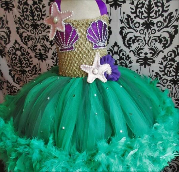 Disney-inspired Little Mermaid Dress Disney Tutu Dresses