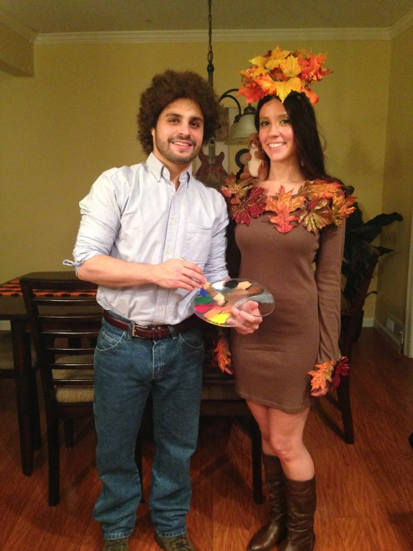 Bob Ross And Happy Little Tree 57 Easy Costume Ideas